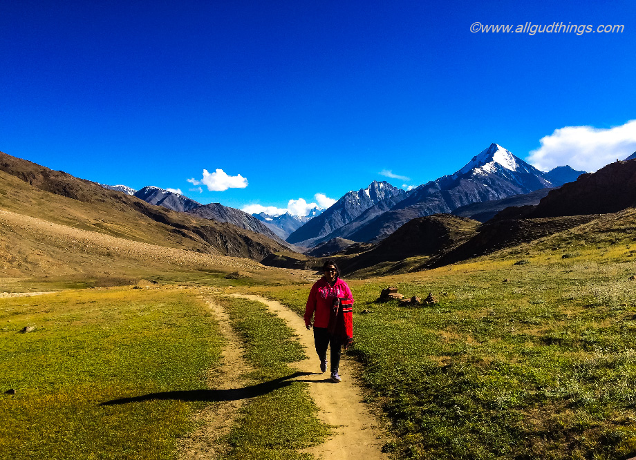 The Trail to Chandratal Lake