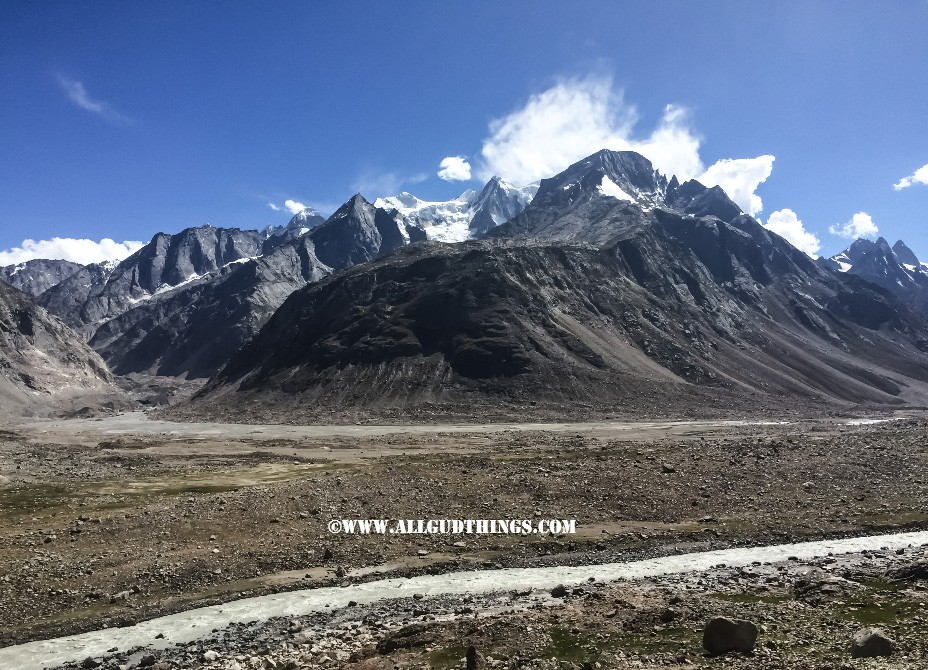 on the way to chandratal lake, Spiti Valley, Himachal Pradesh