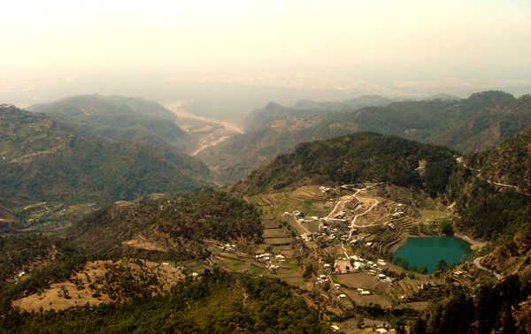 Khurpatal View from Lands end - Day treks in nainital trip