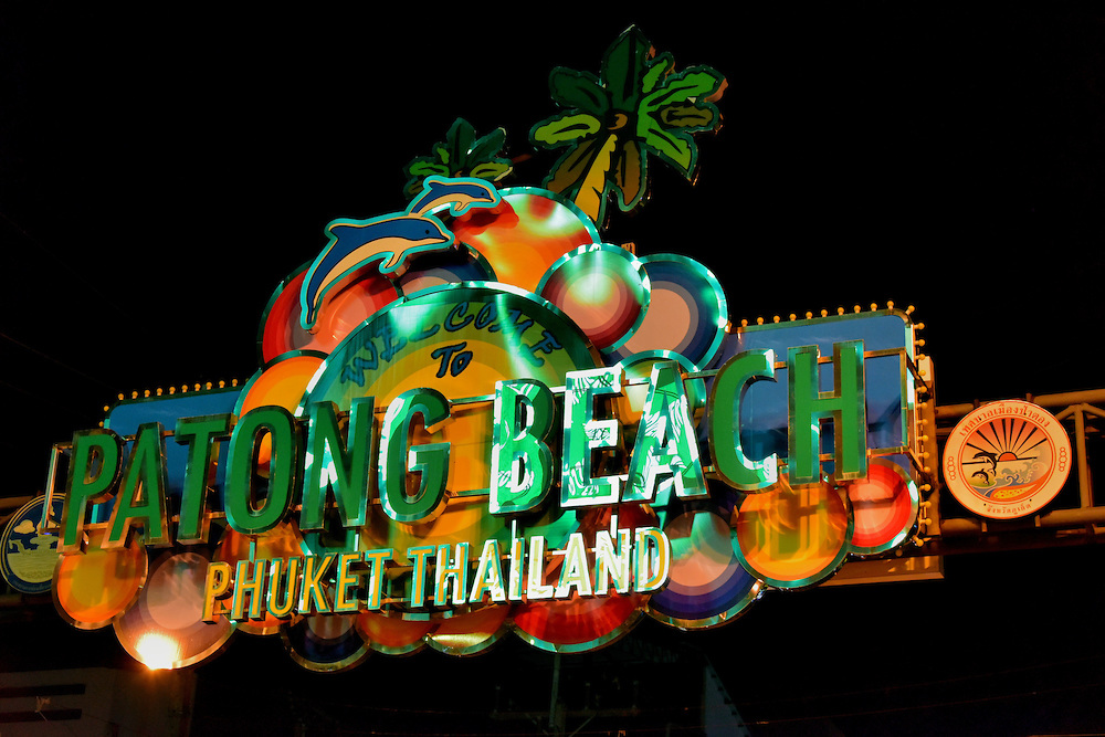 Three days at Patong Town, Phuket Thailand