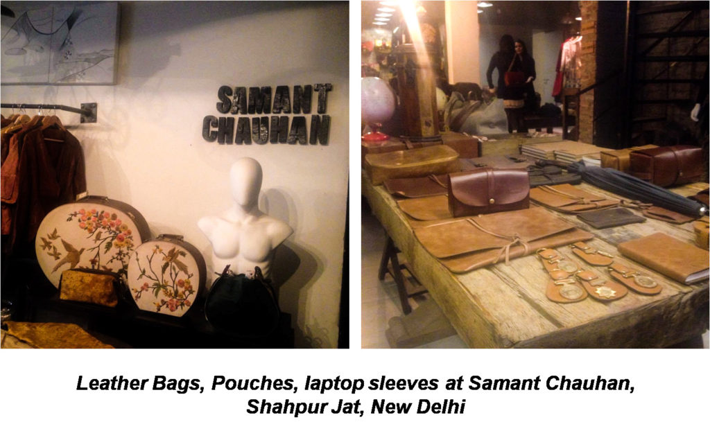 Leather bags, pouches, Laptop Sleeves at Samant chauhan Shahpur Jat Delhi