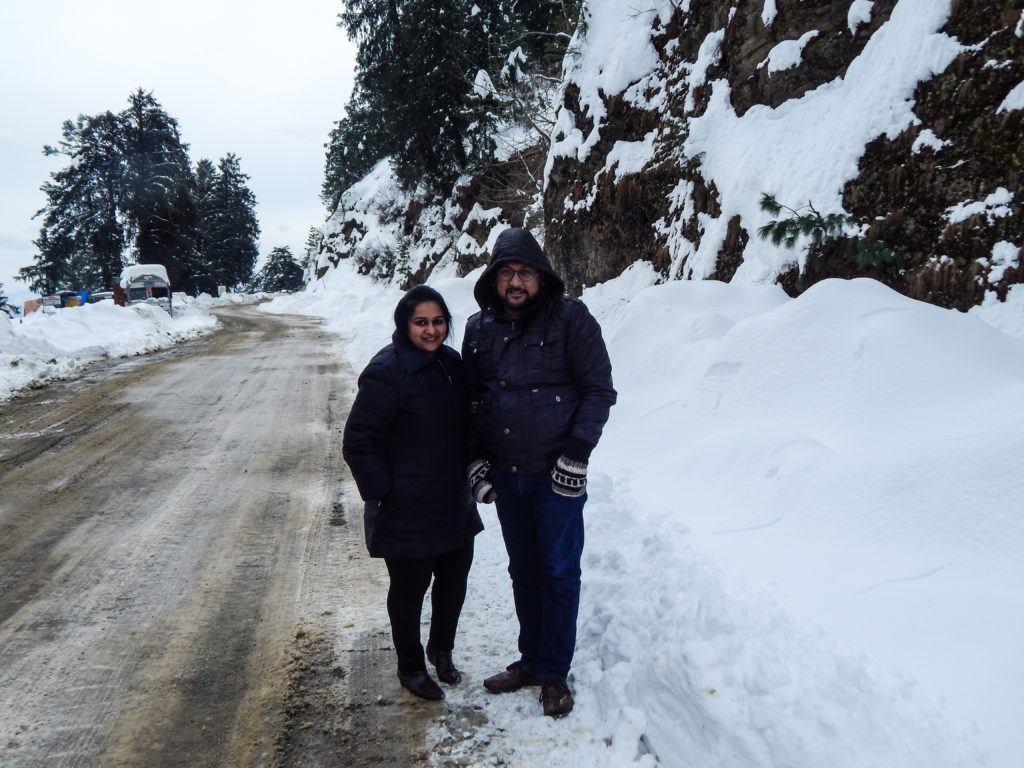 Kufri near Shimla - Beautiful Shimla after Snowfall
