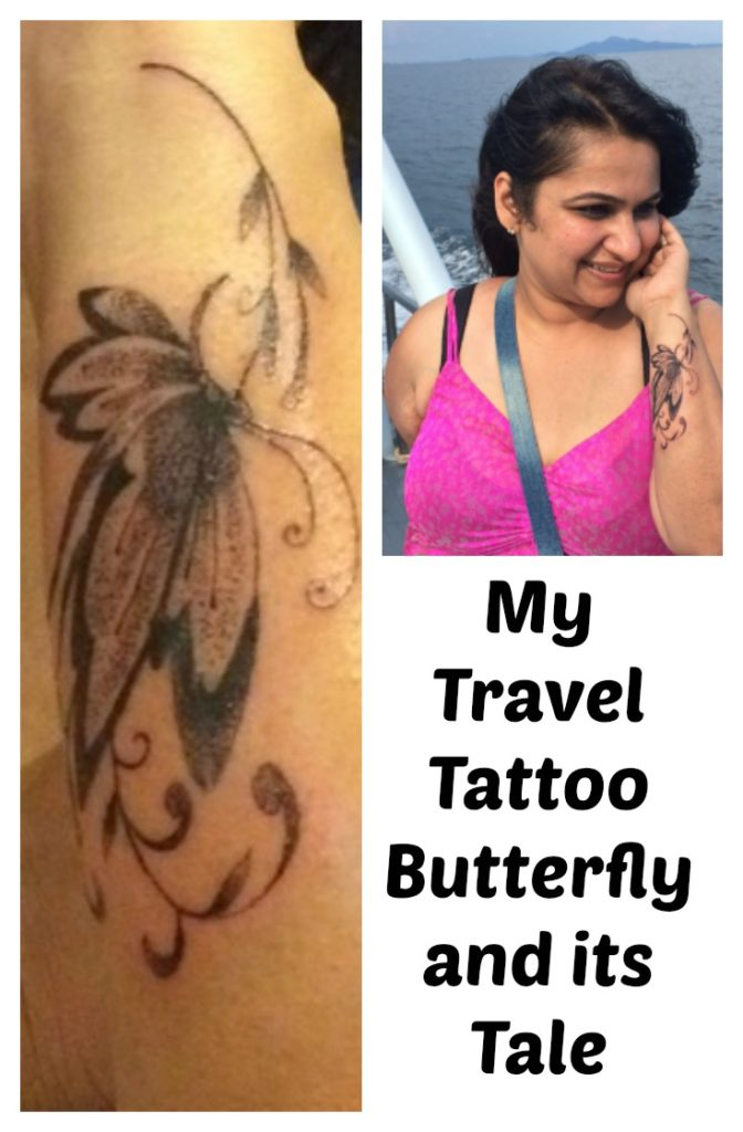 My Travel tattoo butterfly and its tale