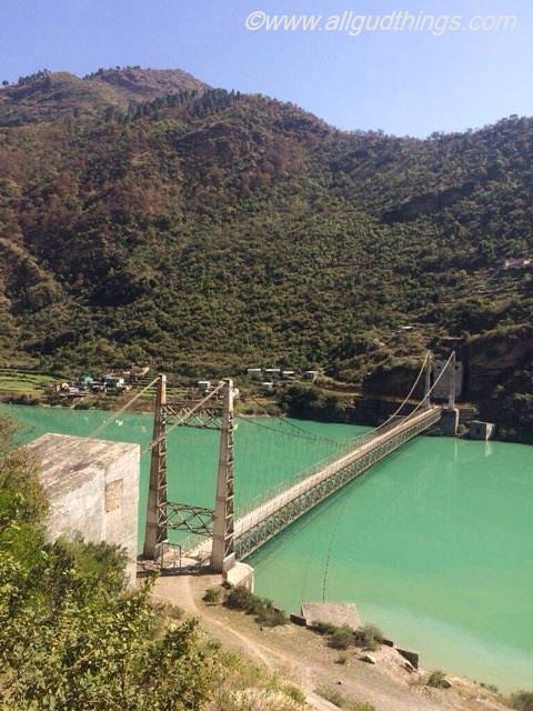 Bridge on the way to Tehri Dam Uttarakhand