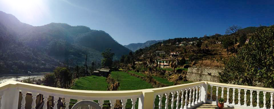 View from Terrace at Monal Tourist Home Uttarkashi