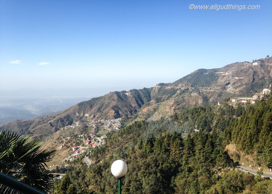 Doon Valley View from hotel country inn Mussoorie