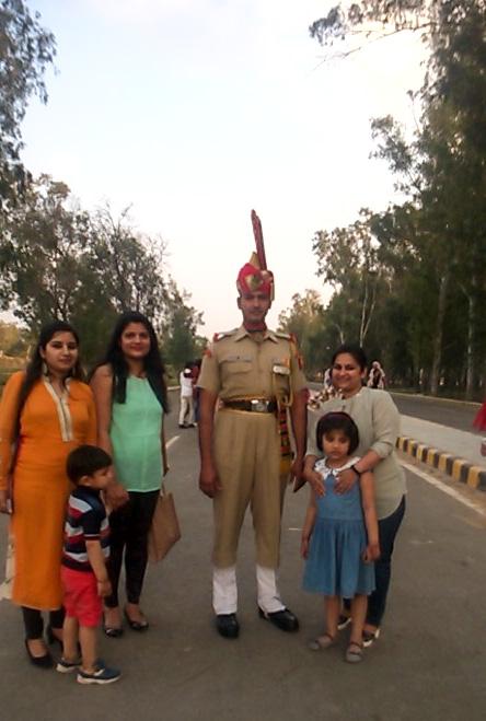 Indian BSF Jawan at Border