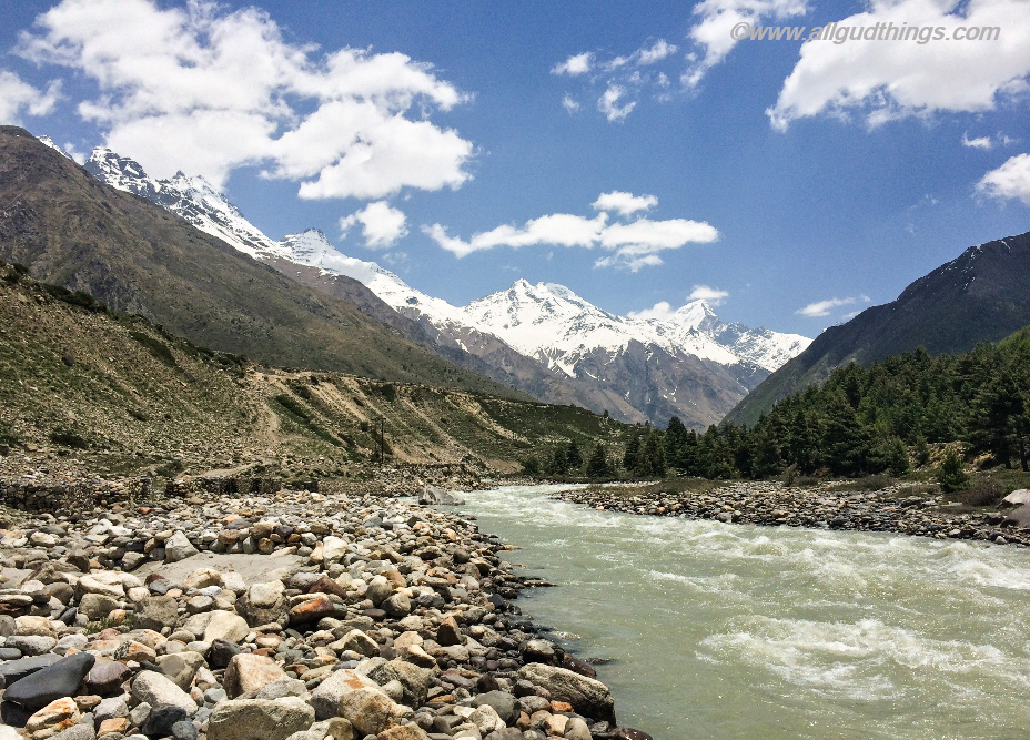 Baspa River in Sangla Valley, Kinnaur