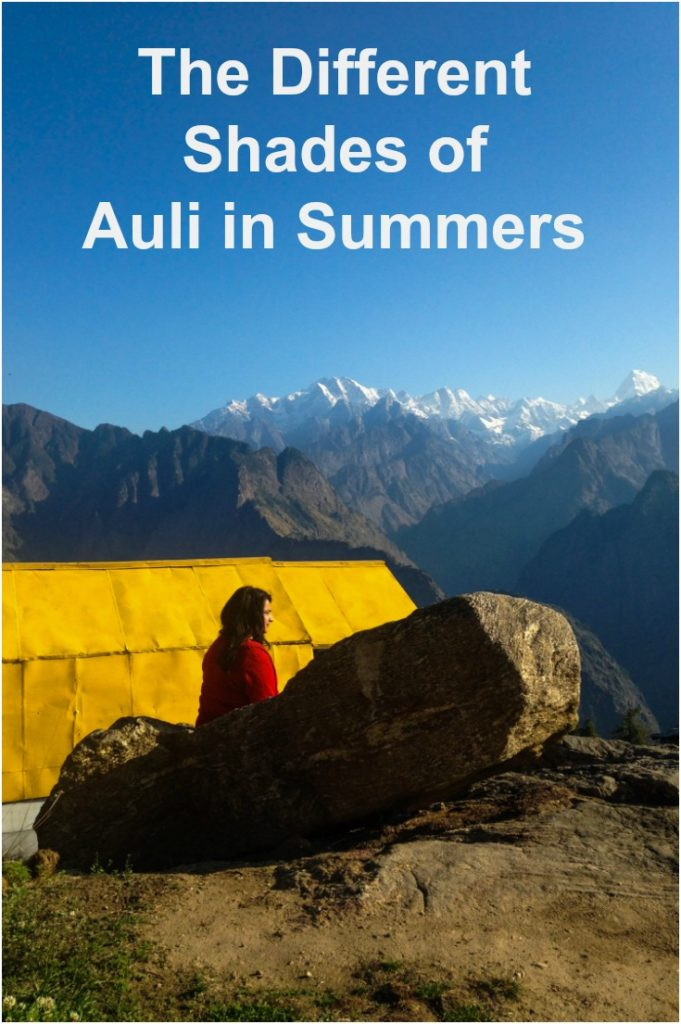 The different shades of Auli in summers, uttarakhand