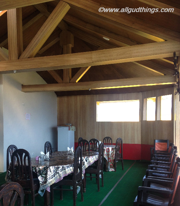 Dining Area at Auli resort