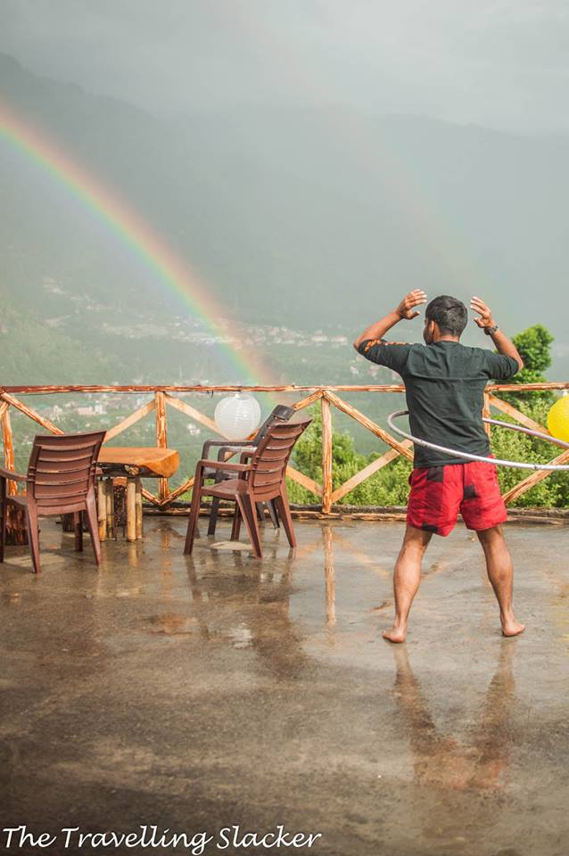 Rainbow along with rains: monsoon road trips to the hills