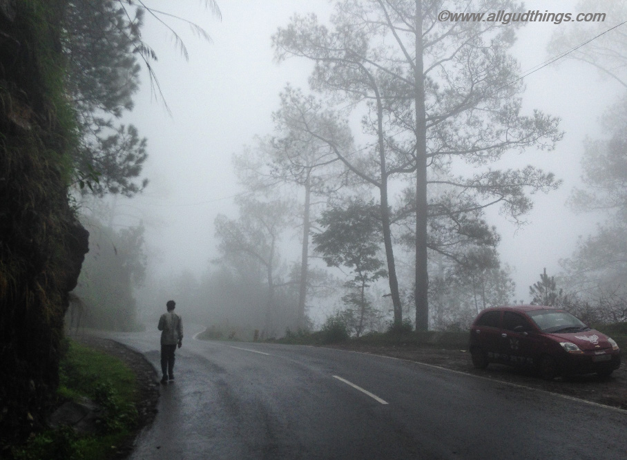Misty Weather - Monsoon Road trip to the hills