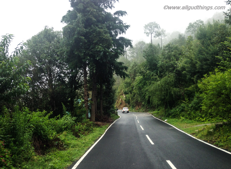 Roads in Uttarakhand- Monsoon road trips to Hills