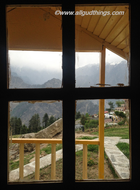 View from Hut of Auli Resort