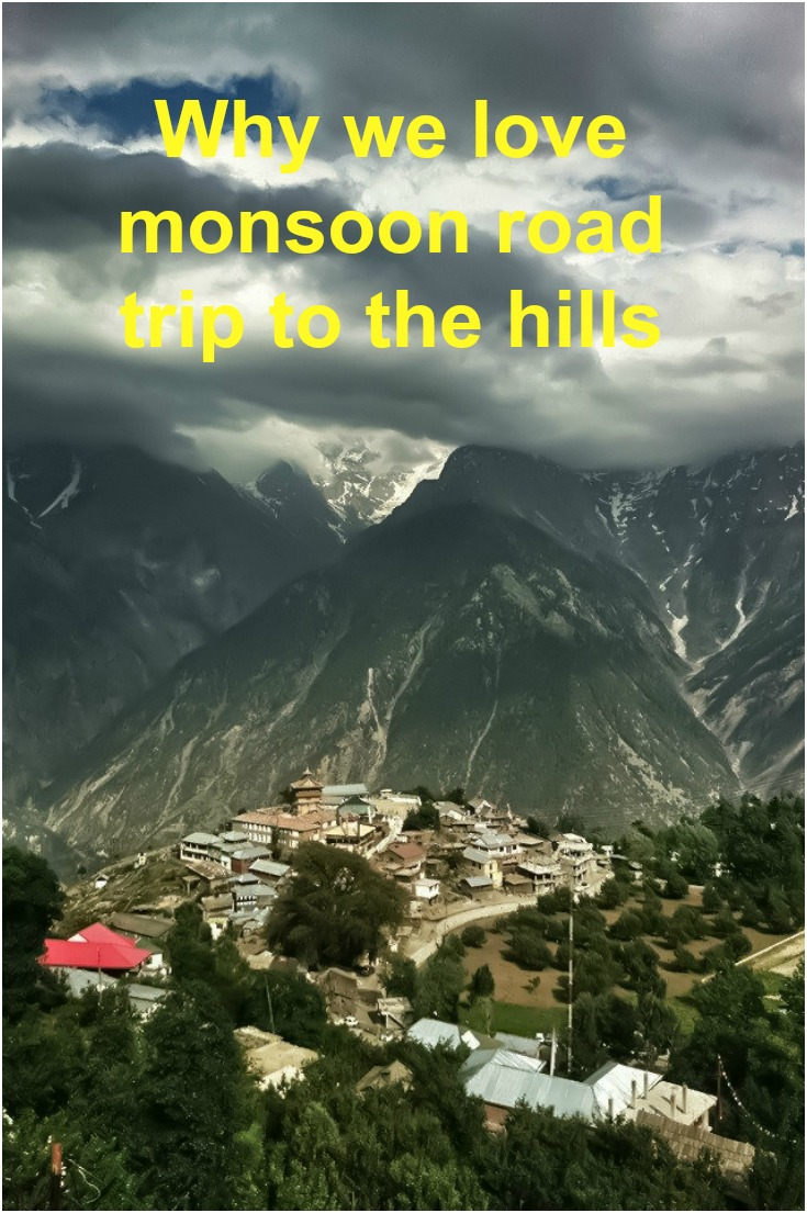 Monsoon road trips to the hills