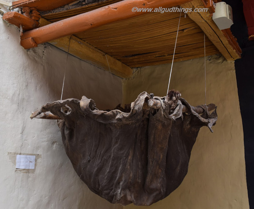 Artifact at Stok Museum (used to carry Wine): 6 must visit Leh Ladakh Palaces