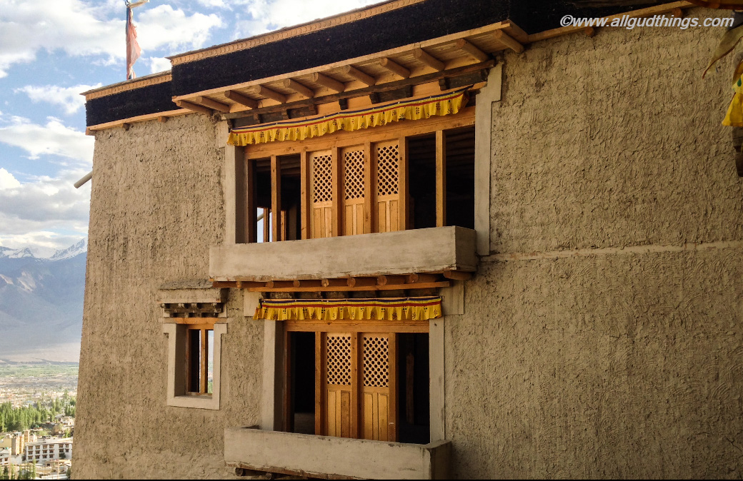 Overhanging Balconies in Leh Palace: 6 must visit Leh Ladakh Palaces, before they disappear