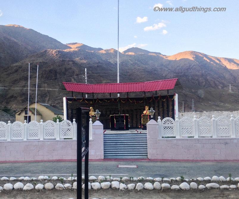 The Memorial at Kargil - Kargil War Memorial
