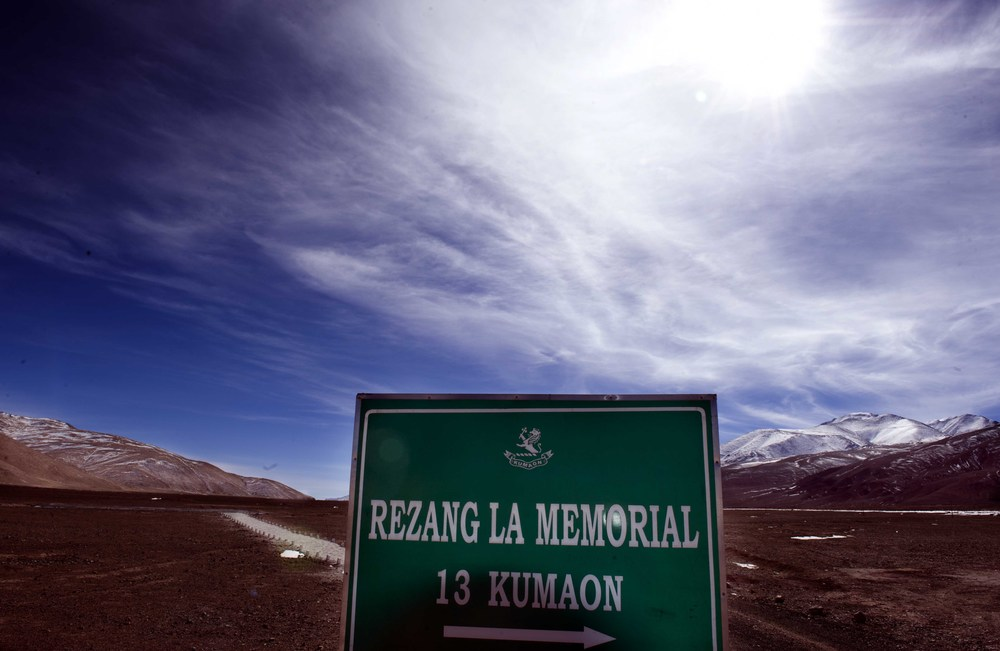 Rezang La Memorial: Ladakh, the land of high passes