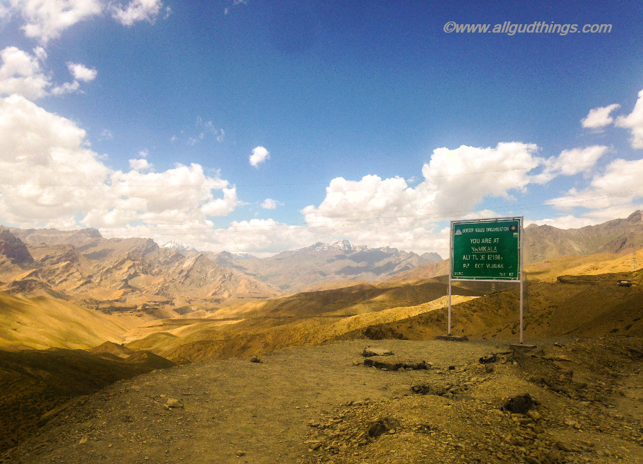 Namika La - Ladakh, the land of high passes