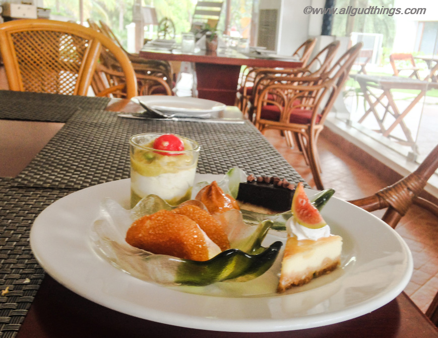 Sweet Delicacies at Chariot beach Resort