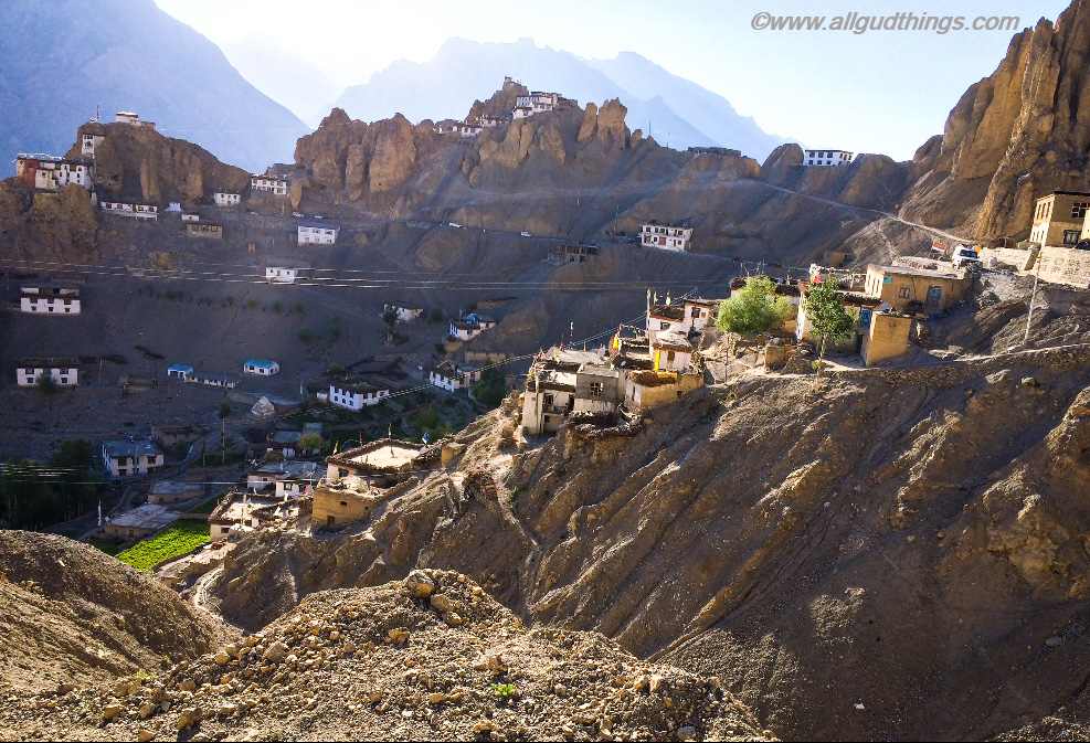 Village Dhankar: Travel Guide for Lahaul Spiti road trip