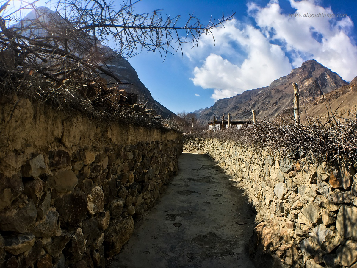 Lanes and By-lanes in Tabo Village, Spiti Valley