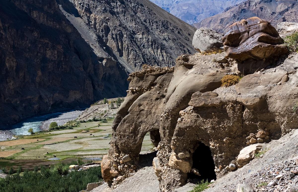 Tabo meditation Caves