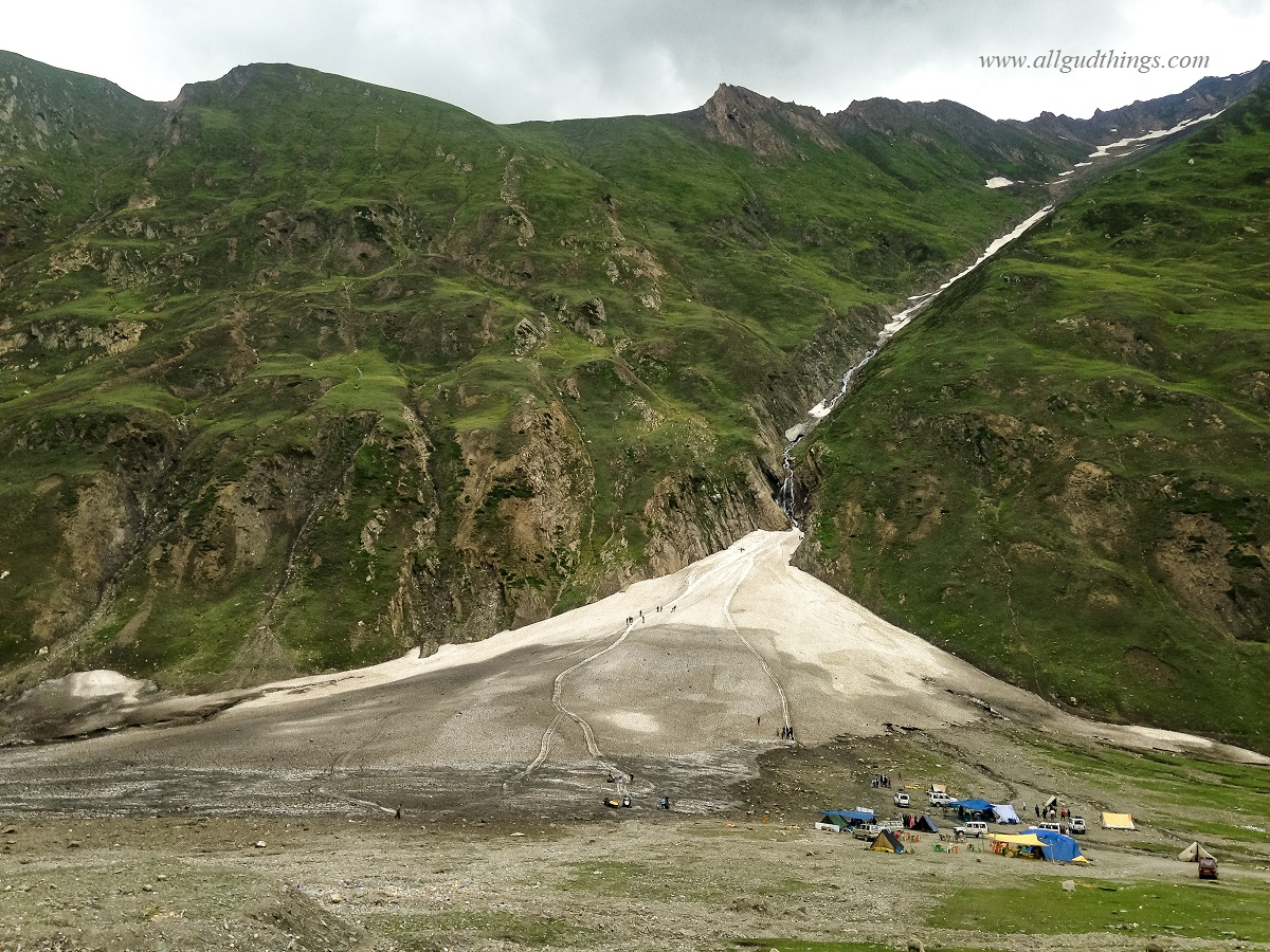 Zero Point at Zojila Pass - Sonamarg Sightseeing