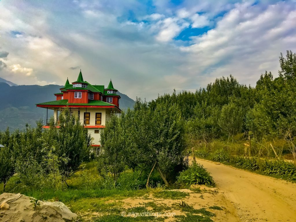 Beautiful Building on the way to Chanshal Pass