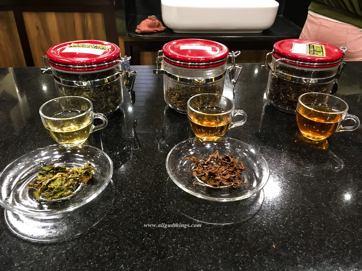 Darjeeling Tea Tasting Session