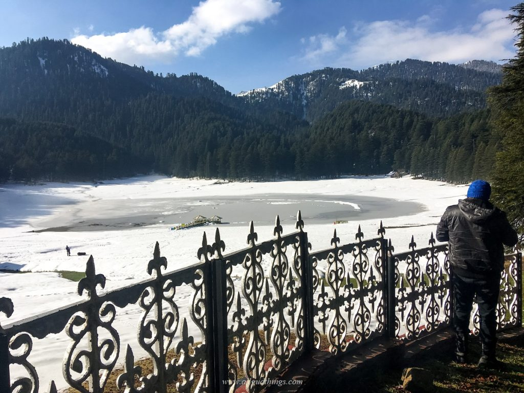 Khajjiar Meadows in winter- Dalhousie Chamba Khajjiar.