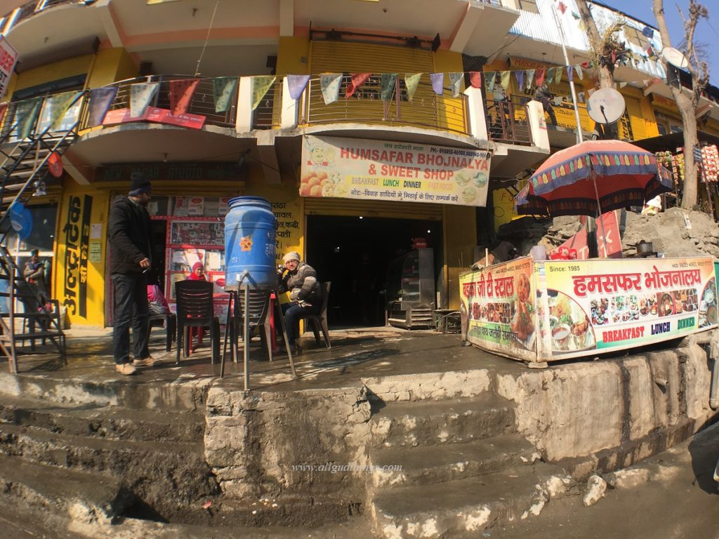 Limited Food Joint Options - Spiti Winter Trip