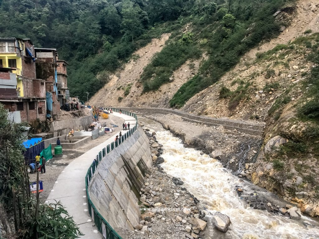 First look of Gaurikund and River Mandakini