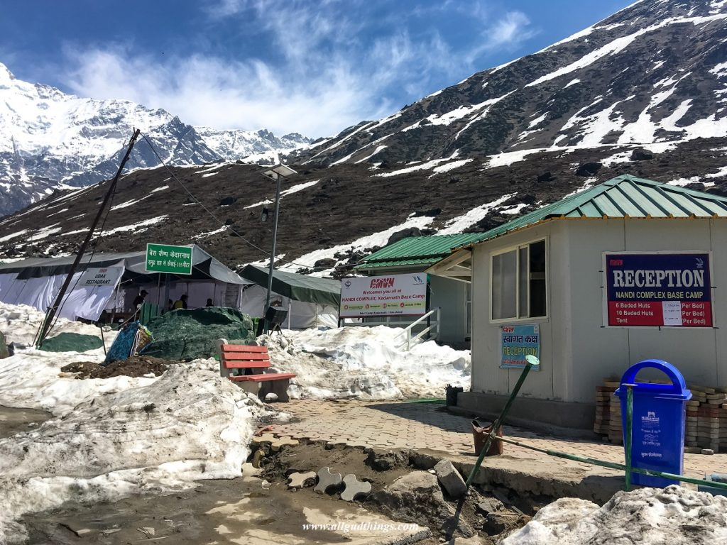 GMVN Accommodation at Kedarnath Base Camp
