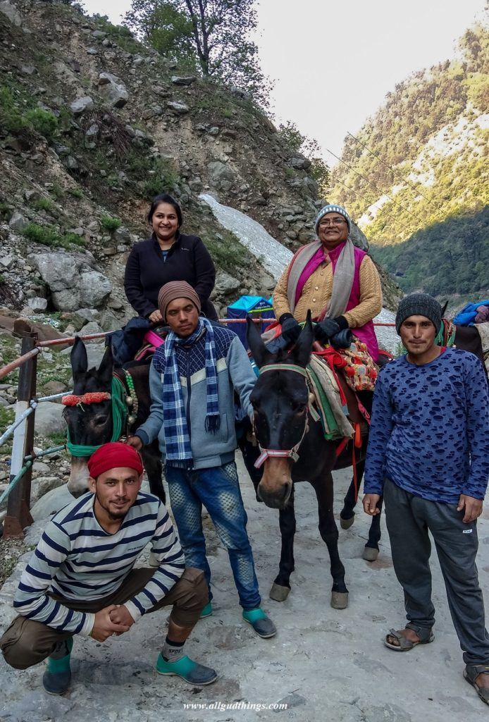 Kedarnath on Horses