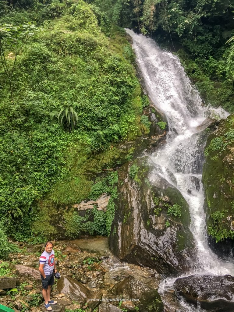 Butterfly Waterfall on the way to West Sikkim- Darjeeling Sikkim Tour