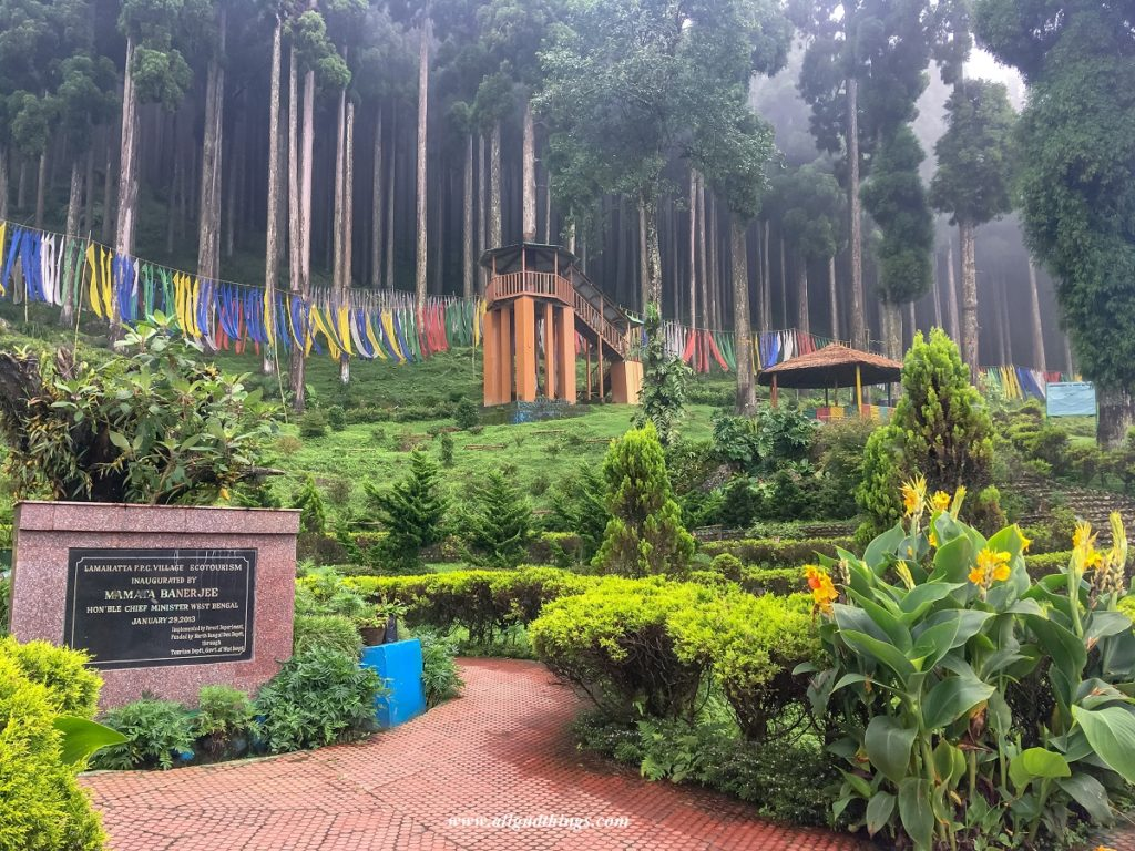 Eco Tourism project on the way from Darjeeling to Gangtok
