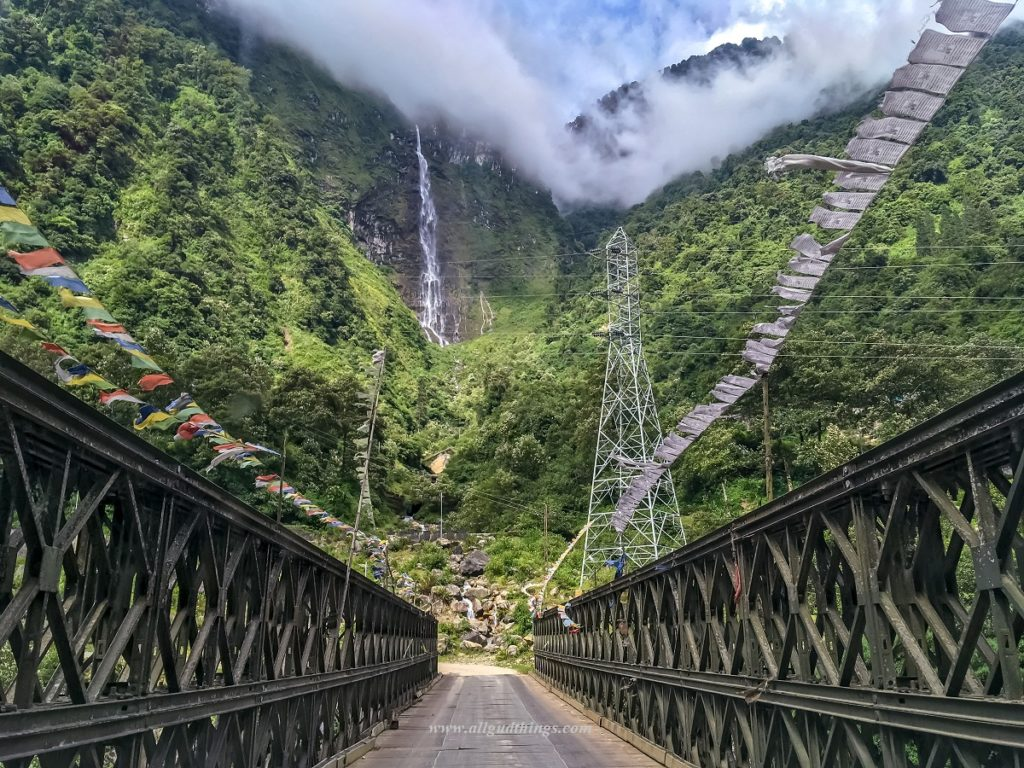 Views on the way to Lachen in North Sikkim