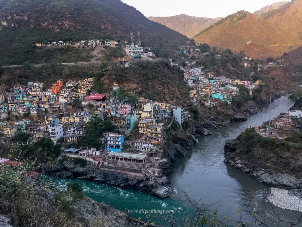 Devprayag - Confluence of River Bhagirathi and River Alaknanda