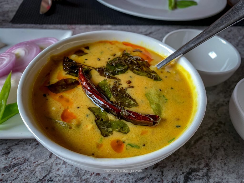 Mirchi Kadhi at NaCl Restaurant
