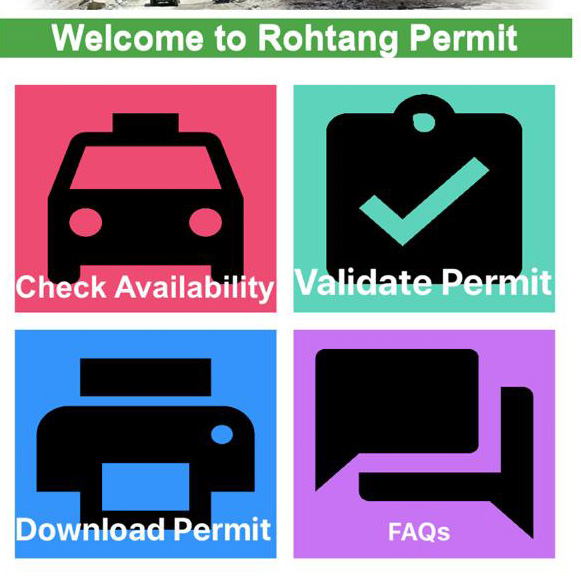 Rohtang Permit Mobile App (IOS & Android Users)